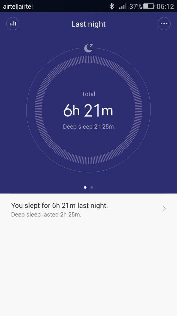Xiaomi Mi Band_sleep data_2