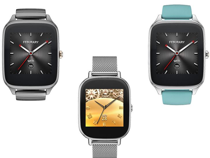 ASUS rolls out Android Wear update for its ZenWatch 2 ...
