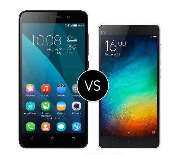 Honor 4x vs Xiaomi Mi4i