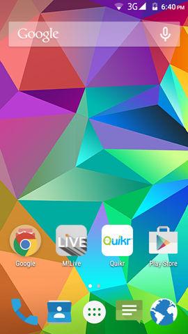 Micromax Canvas Spark screenshot (2)