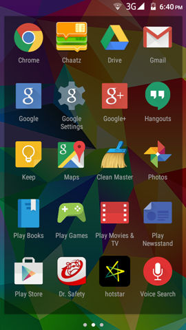 Micromax Canvas Spark screenshot (6)