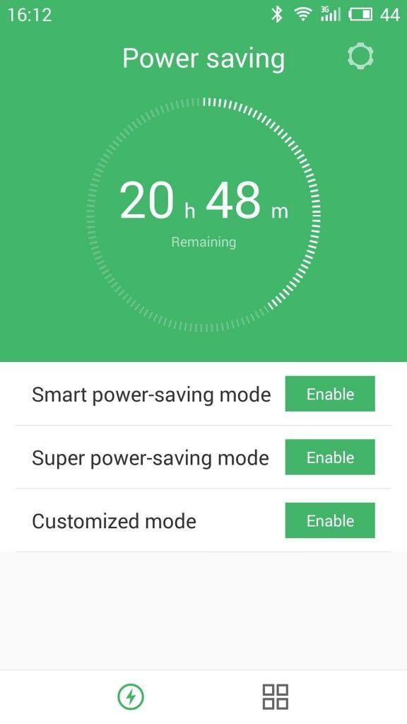 MEIZU m2 note_Power saving