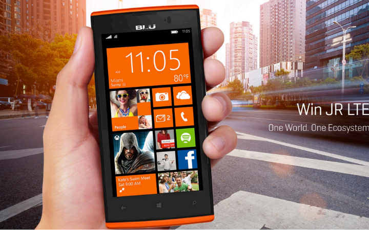 BLU Win JR LTE and Win HD LTE Windows phones launched in ...