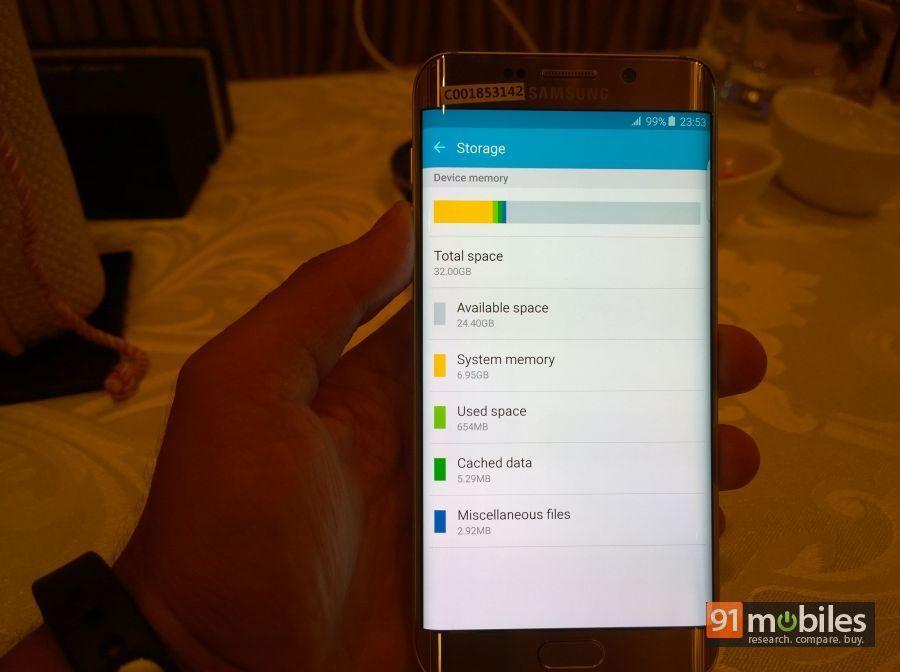 Samsung Galaxy S6 edge  first impressions 20