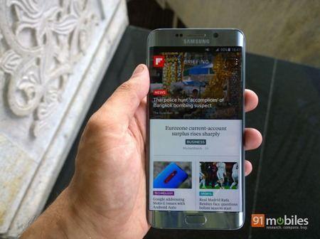 Samsung Galaxy S6 edge  first impressions 61