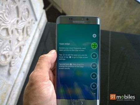 Samsung Galaxy S6 edge  first impressions 66