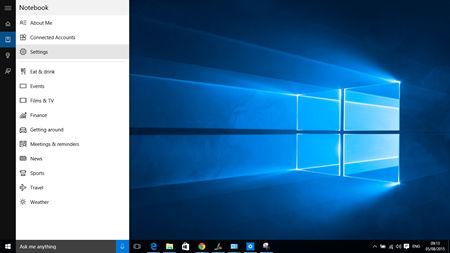 Windows 10-Cortana