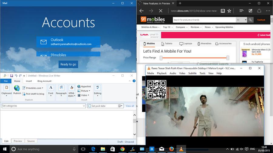Windows 10-Multi-tasking
