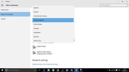 Windows 10-Region-Language-Settings