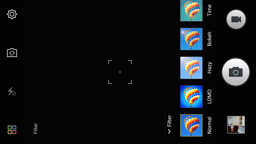 Gionee Marathon M4_camera filters