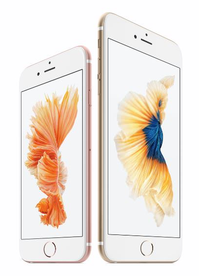 iPhone 6S and 6S Plus official