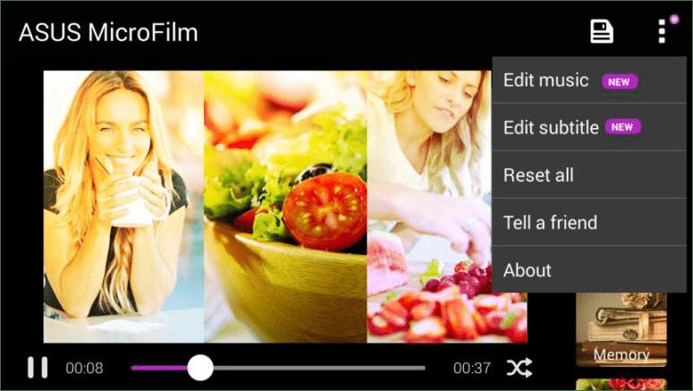 39. ASUS MiniMovie