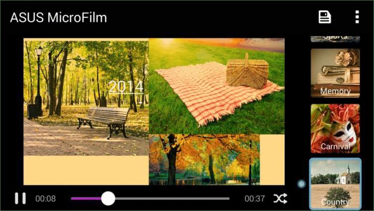 40. ASUS MiniMovie