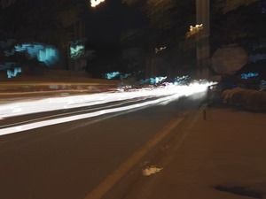 Honor 7 camera performance - light trails 1