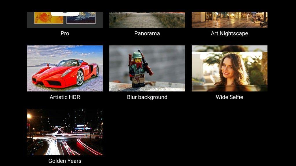 Lenovo Vibe Shot_camera modes