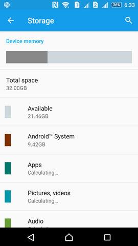 Sony Xperia Z5 screenshot (1)