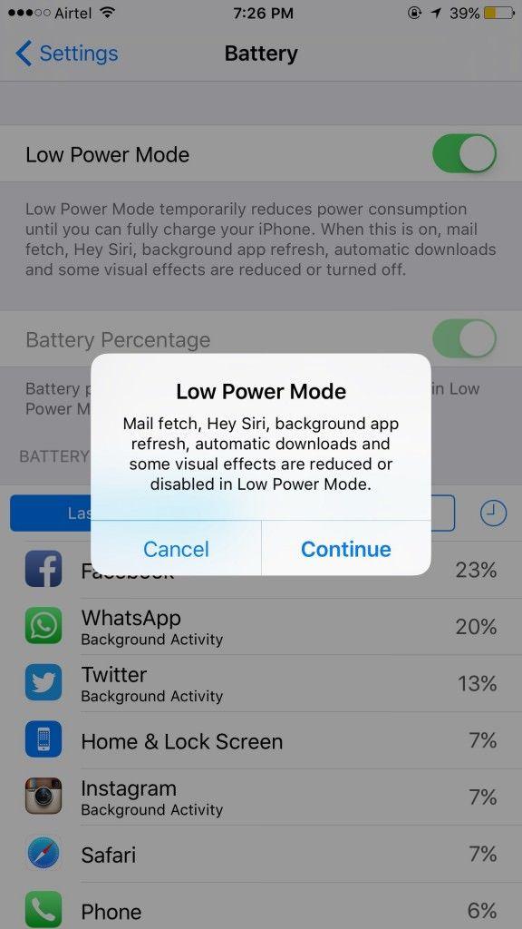 iPhone 6s Plus_low power