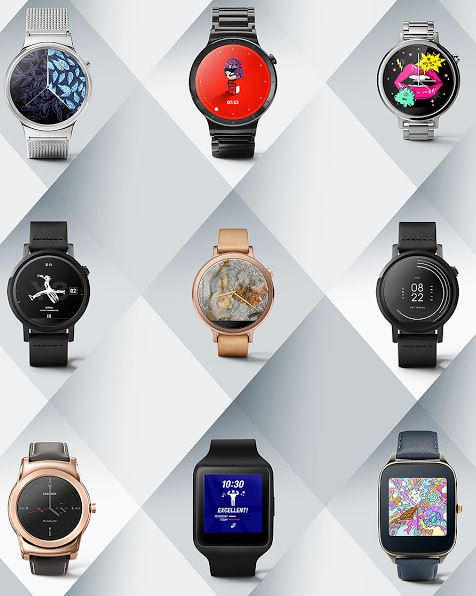Google releases new designer watch faces for Android Wear ...