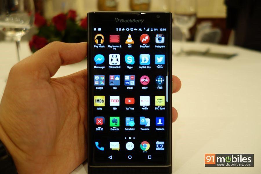 BlackBerry PRIV first impressions 12