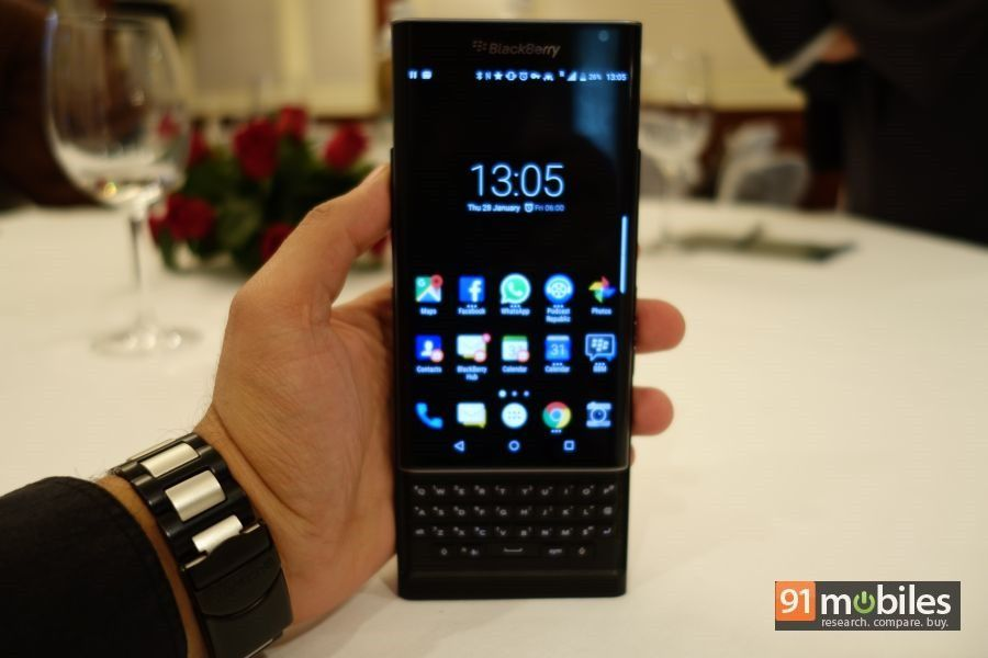 BlackBerry Priv gets the Android Marshmallow update in India