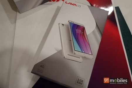 Lava V5 unboxing and first impressions 03