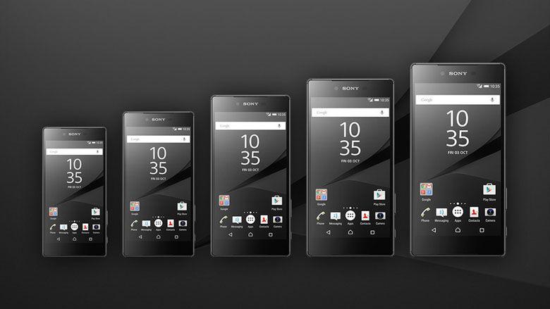 Sony Xperia Z6 variants