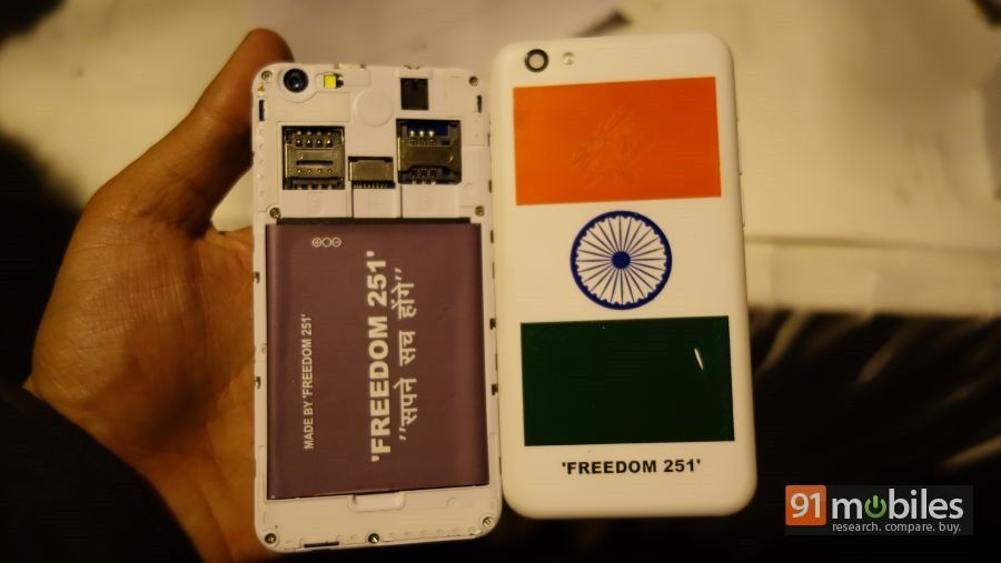 Freedom 251 unboxing and first impressions 27