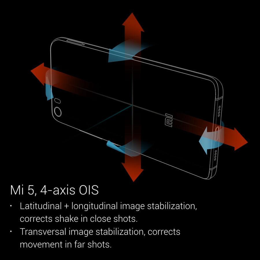 Mi 5 4-axis-OIS