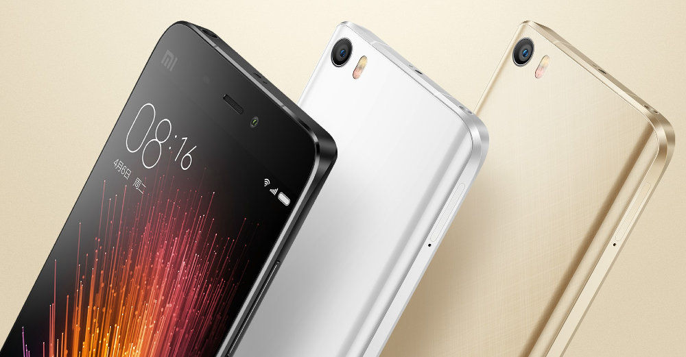 Xiaomi launches the power-packed Mi 5 and Mi 5 Pro