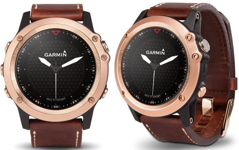 Garmin Fenix 3 Sapphire Rose Gold smartwatch launched in ...