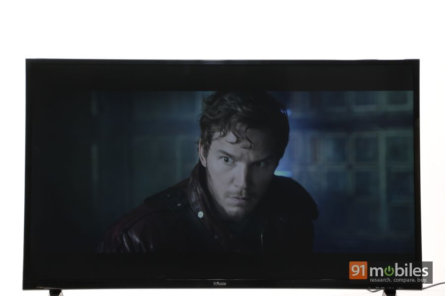 InFocus II-50EA800 TV first impressions 03