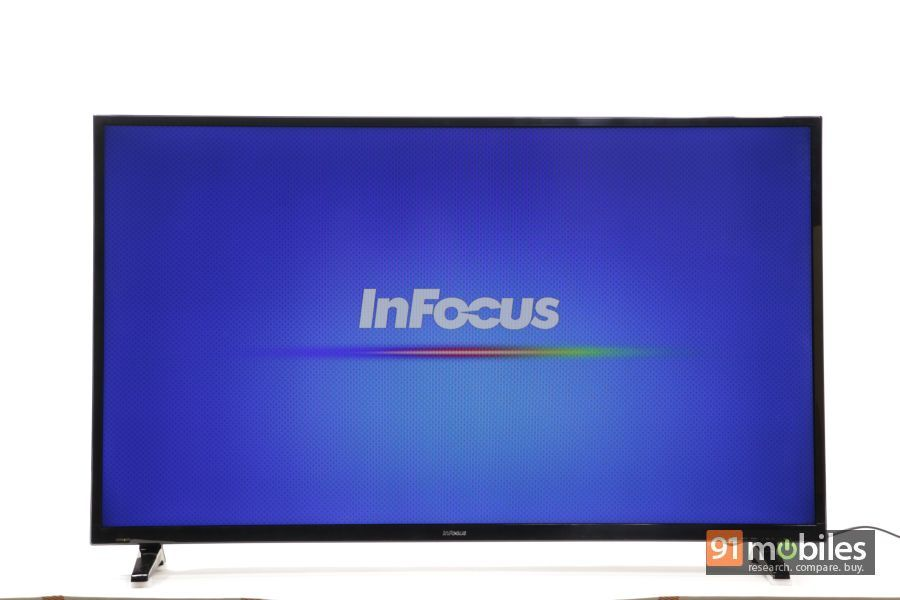 InFocus II-50EA800 TV first impressions 08