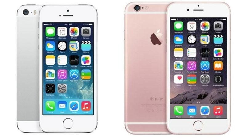 iPhone 5s and Iphone 6s