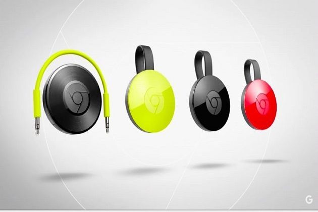 Chromecast 2 and Chromecast Audio launched in India