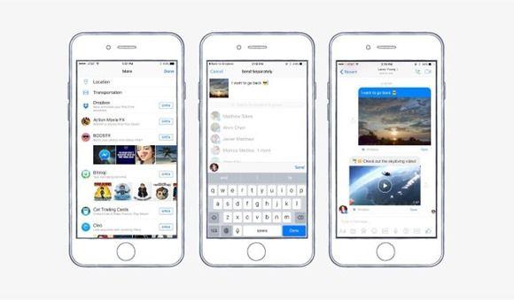 Facebook Messenger - Dropbox integration