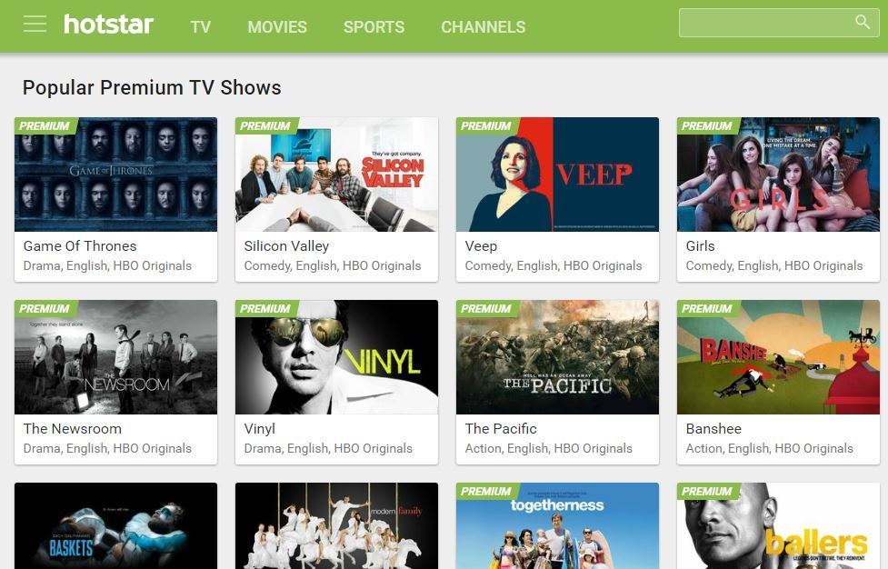 Catch Game of Thrones and other US shows on Hotstar Premium for Rs