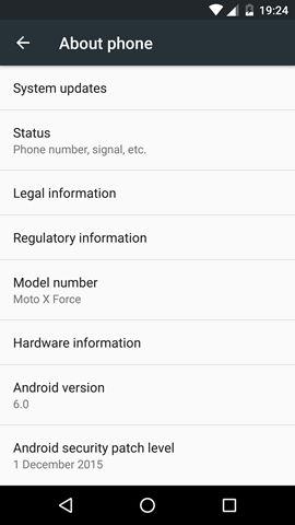 Motorola Moto X Force screenshot (5)