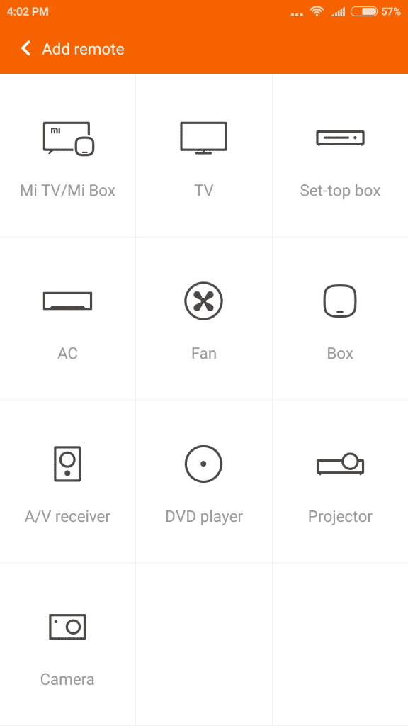 Xiaomi Mi 5_mi remote