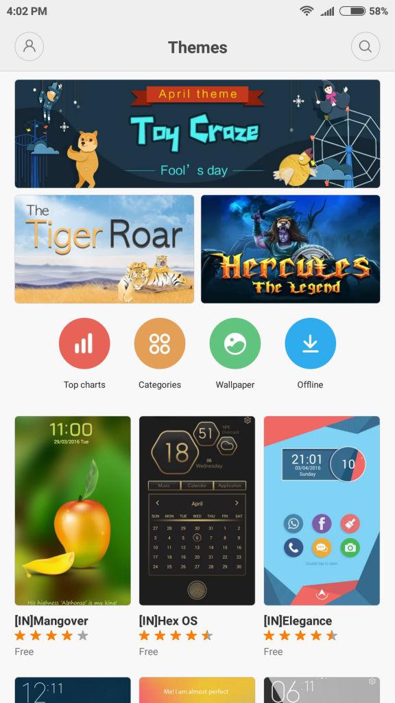 Xiaomi Mi 5_themes