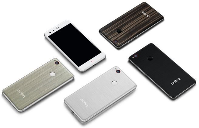 ZTE nubia Z11 mini backs