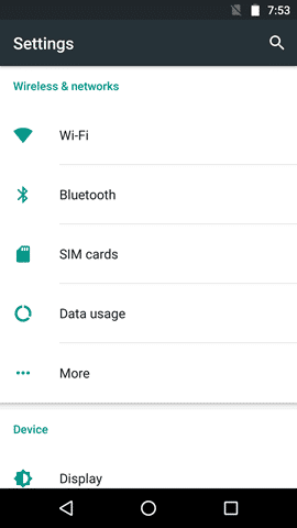Android 6.0 Marshmallow screenshot (4)