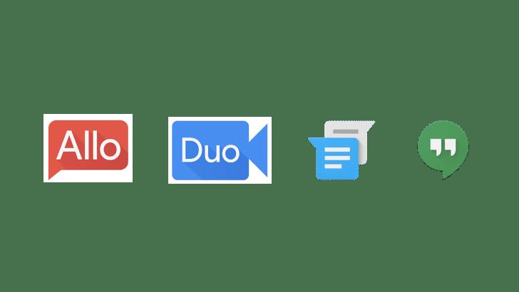 Google's Messaging apps