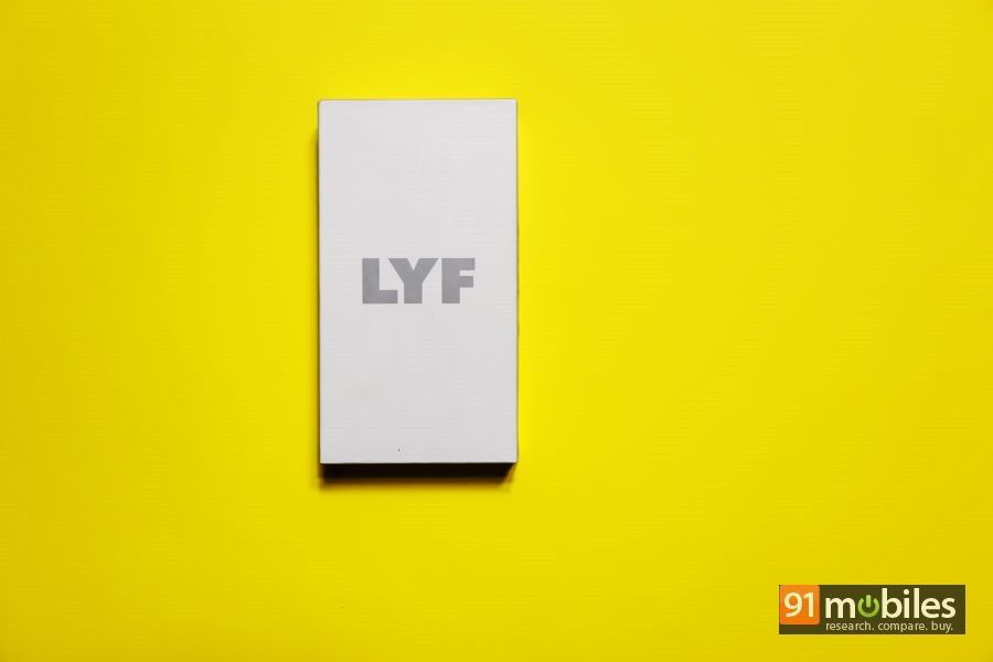 LYF Water 2 unboxing and first impressions 01