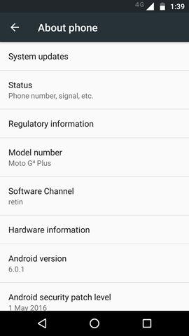 Lenovo Moto G4 Plus screenshot (3)