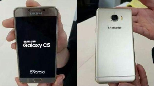 Samsung Galaxy C5 and C7