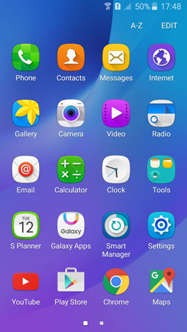 Samsung Galaxy J3 screenshot (4)
