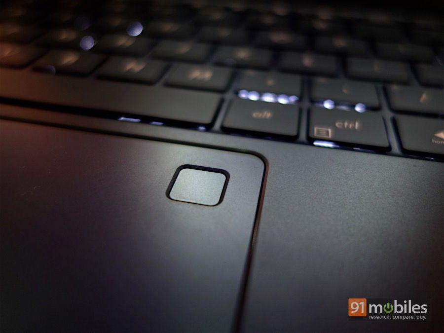 Fingerprint sensor and trackpad