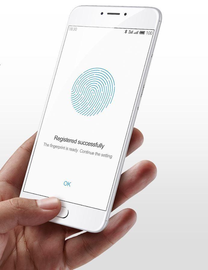 Meizu m3 note fingerprint