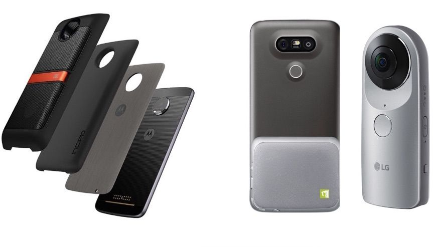 Moto Z vs LG G5