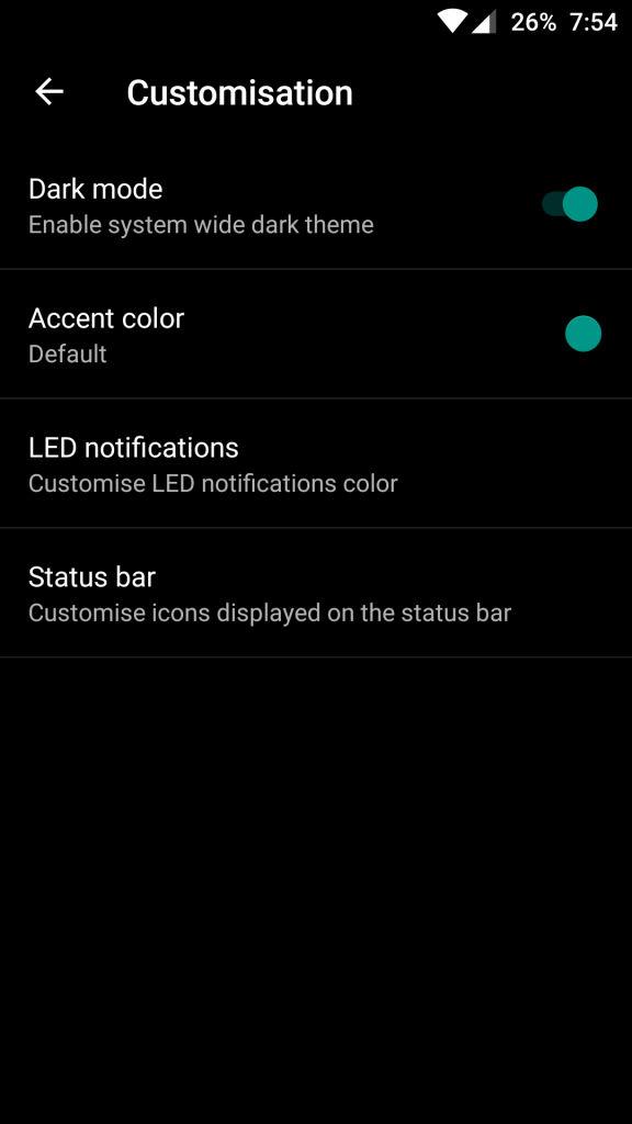 OnePlus 3_customisation